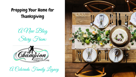 Prepping Your Home for Thanksgiving