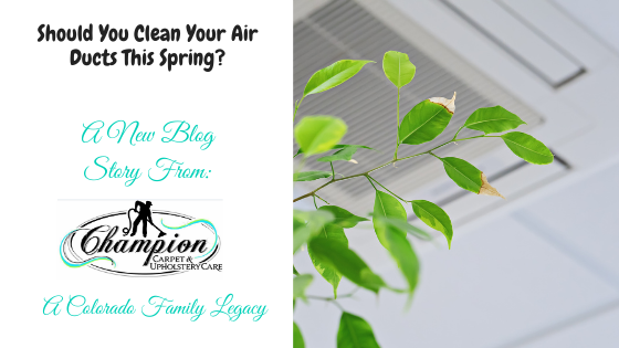 Should You Clean Your Air Ducts This Spring?