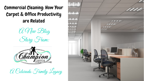 Commercial Cleaning: How Your Carpet & Office Productivity are Related