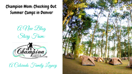 Champion Mom: Checking Out Summer Camps in Denver