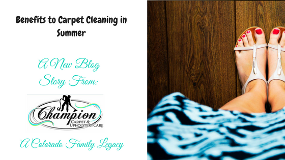 Benefits to Carpet Cleaning in Summer