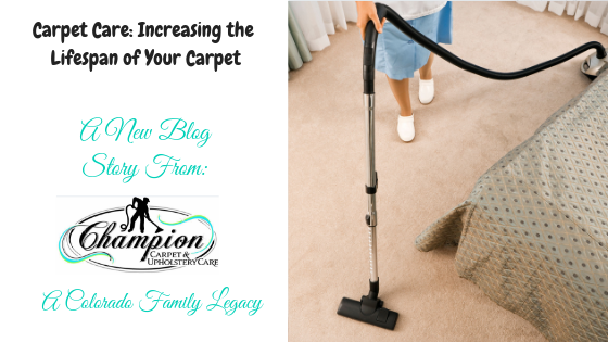 Carpet Care: Increasing the Lifespan of Your Carpet