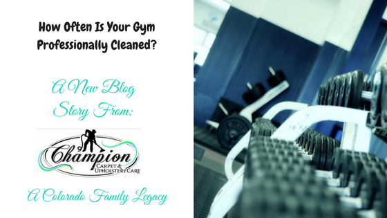 How Often Is Your Gym Professionally Cleaned?