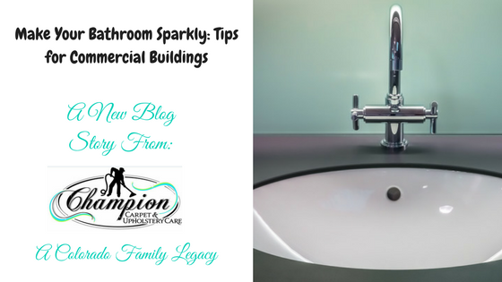 Make Your Bathroom Sparkly: Tips for Commercial Buildings