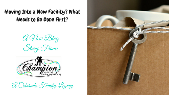 Moving Into a New Facility? What Needs to Be Done First?