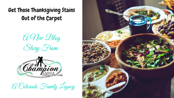 Get Those Thanksgiving Stains Out of the Carpet