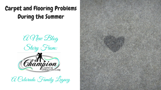 Carpet and Flooring Problems During the Summer