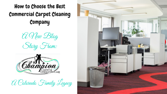 How to Choose the Best Commercial Carpet Cleaning Company